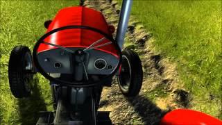 Agricultural Simulator: Historical Farming - Gameplay#5 [ITA][1080p] - Campo Arato e Coltivato
