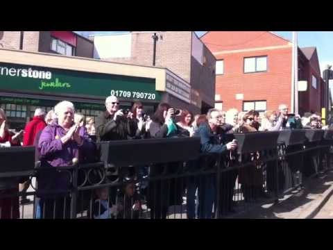 Memorial Parade to Mark the Closure of Maltby Colliery