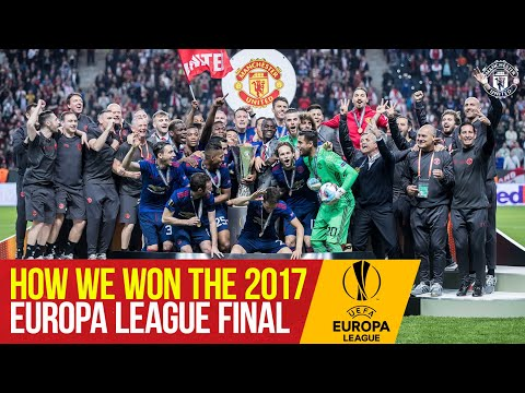 How We Won The 2017 Europa League Final | Ajax 0-2 Manchester United | Stockholm Final