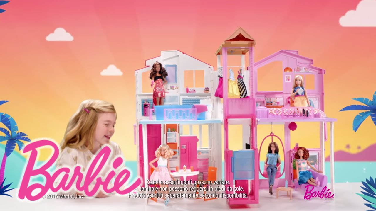 Barbie Casa Di Malibu | Barbie - YouTube