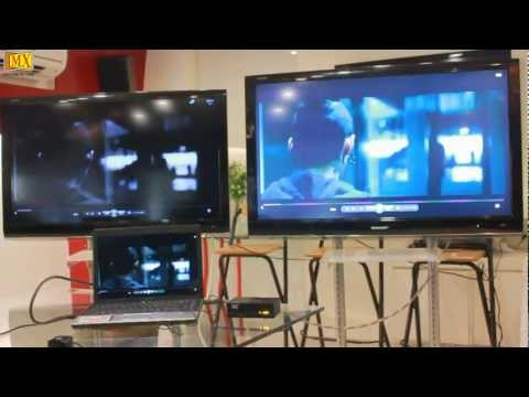 How to split video's from laptop to 2 TV'S Using HDMI