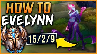RANK 1 EVELYNN HOW TO DUO IN CHALLENGER (FT. FOGGEDFTW) - League of Legends