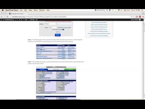 Nevada Business Entity Search   Corporation   LLC   Partnerships