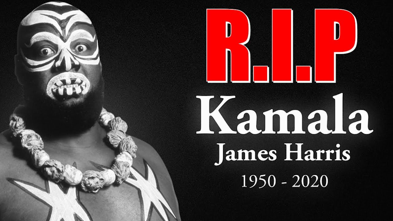 US wrestler James 'Kamala' Harris dies aged 70