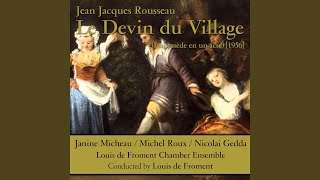 Le Devin du Village: XXV. Allons Danser