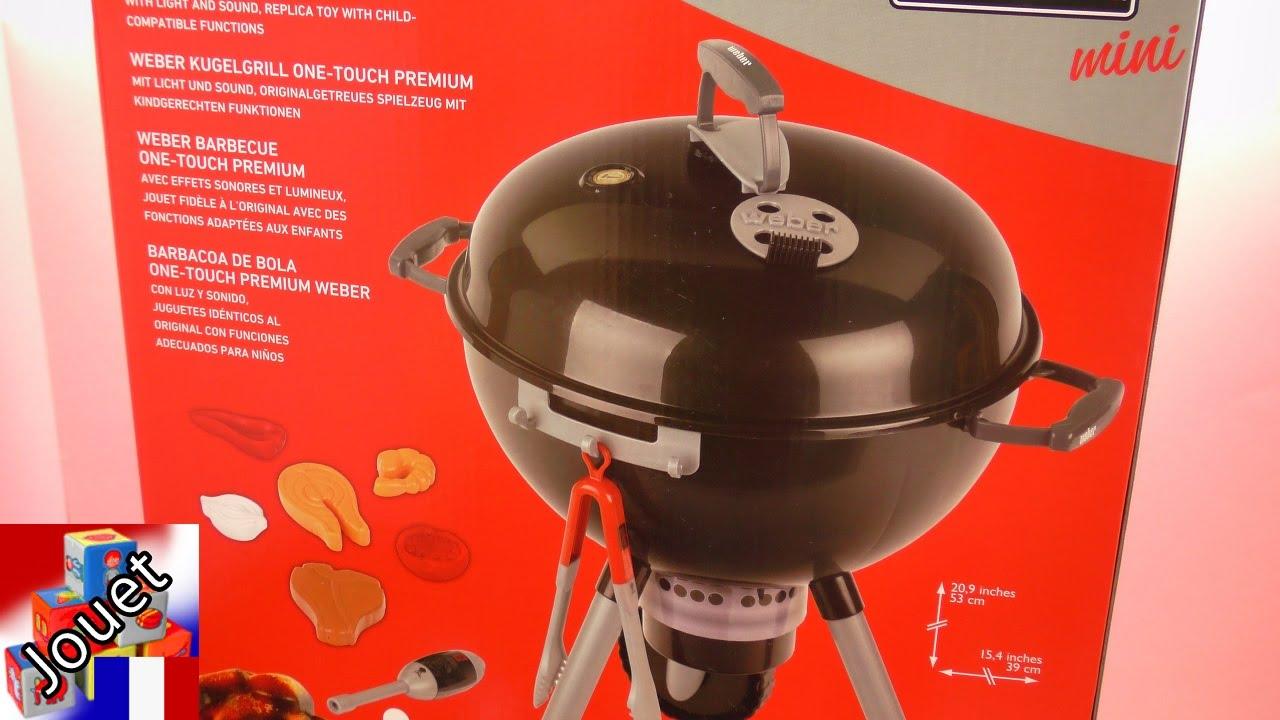 klein weber barbecue pour enfants faire des grillades comme les adultes unboxing youtube. Black Bedroom Furniture Sets. Home Design Ideas