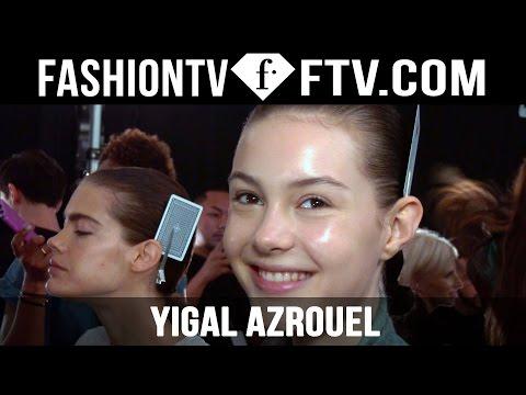 Makeup at Yigal Azrouel Spring 2016 New York Fashion Week | FTV.com