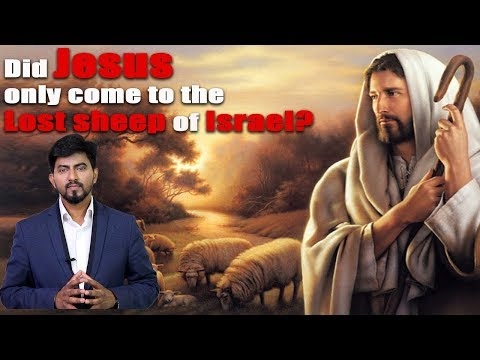 Did Jesus Only Come To The Lost Sheep Of Israel?