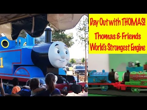 Thomas and Friends Day out with Thomas  World's Strongest Engine Kids Toys Thomas the Tank Engine