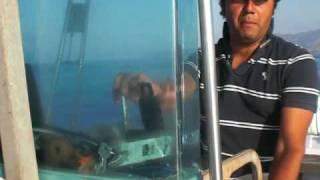 """Villasimius 2009 - """"A pesca con PierCarlo Viotti. Barracuda lesson!"""""""