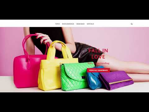 Fashion Handbags – Start-up Business – Website For Sale