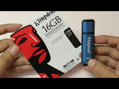 Kingston Vault Privacy 3.0 Secure USB Drive Review