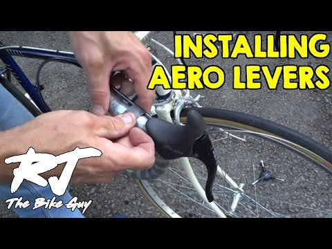 How To Install Aero Brake Levers On Vintage Bike