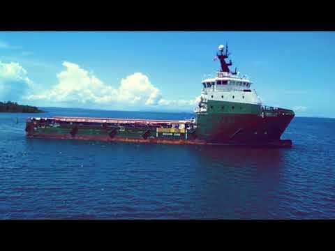 Olah Gerak Supply Vessel Surf Perdana