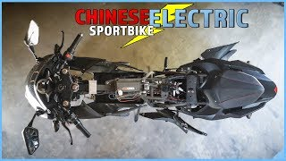 What39s INSIDE a 1500 ELECTRIC SPORTBIKE From CHINA