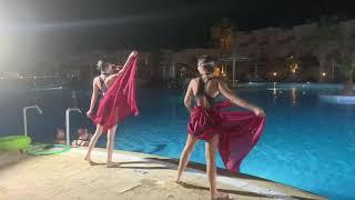 Балет на воде в отеле Лабранда Клаб Макади Прекрасное шоу для гостей Турагент Оксана Шило