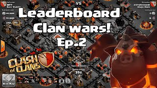 Clash of clans - Kings of clash ( Ep.2 Lava hound Atk)