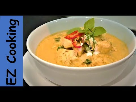 How To Cook Thai Red Curry Chicken | Thai Food