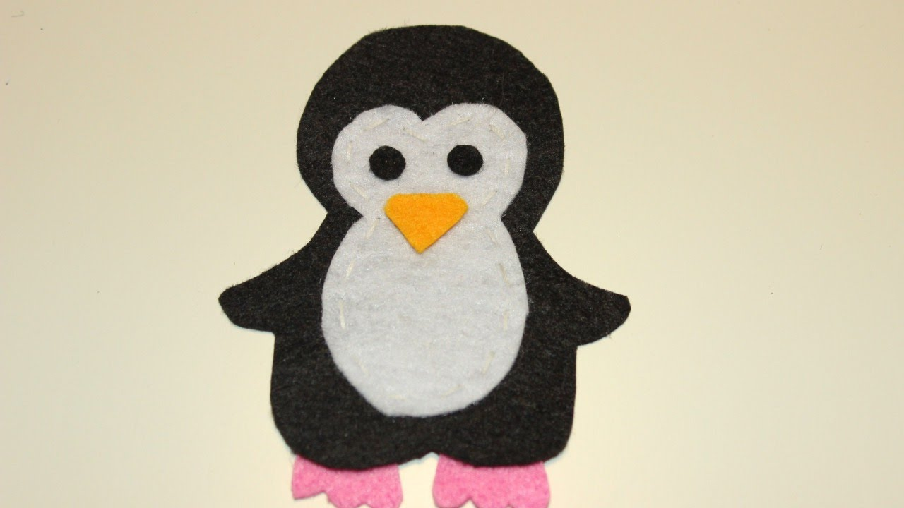 Make a cute applique penguin diy crafts guidecentral youtube