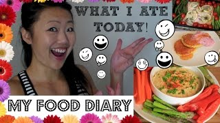 WHAT I EAT IN A DAY (My Food Diary) - 6 meal and snack ideas
