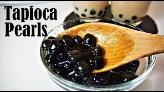 Homemade Tapioca/Boba Pearls From Scratch |Simple And Easy Recipe