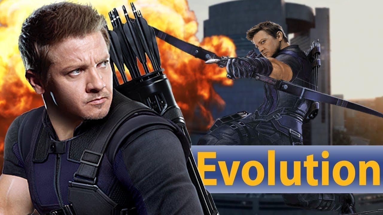 avengers 3: infinity war - die entwicklung von hawkeye | evolution