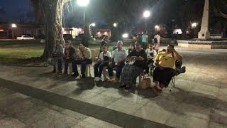 Evangelizando en la Plaza Publica de Naguabo nos Predica Héctor Sánchez