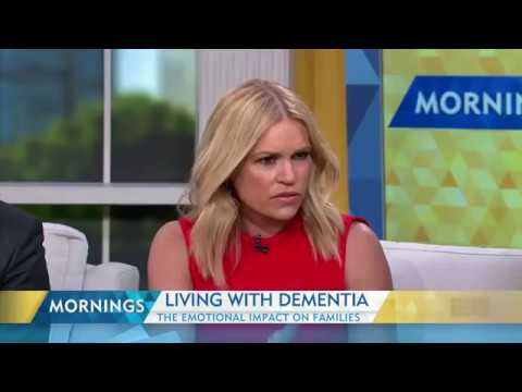 Living with dementia - Channel 9 Mornings Interview