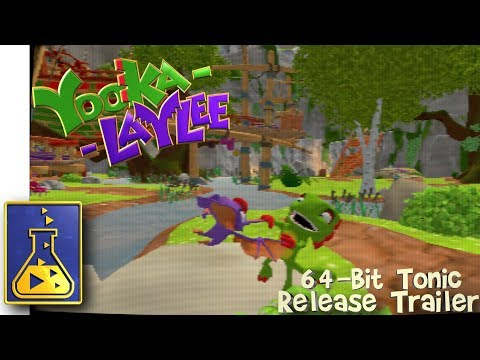 Yooka-Laylee is finally rocking the 64-bit look