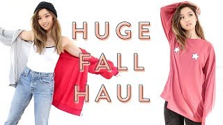 Huge Fall Try-On Haul | Eggie Drop II