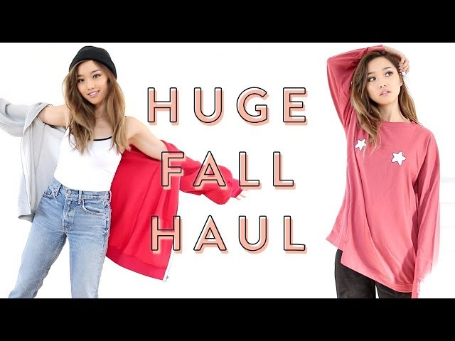 Huge Fall Try-On Haul | Eggie Drop II