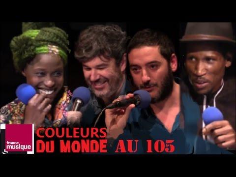 OCORA COULEURS DU MONDE EMISSION DE FRANCE MUSIQUE PRESENTEE PAR FRANCOISE DEGEORGES  PARIS LE 07 NO