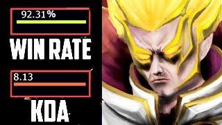 New Best Invoker in The World - 92 % Win Rate Dota 2