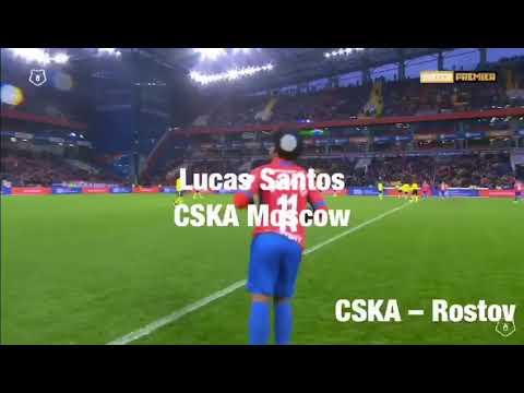 Lucas Santos CSKA Moscow CSKA-Rostov 6102019