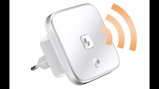 Setup Huawei WS323 with WPS button (WiFi Repeater Mode)