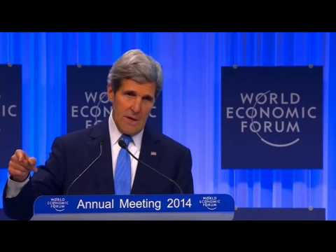 Secretary Kerry Delivers Remarks at the World Economic Forum