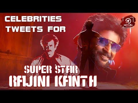 EXCLUSIVE: Top Celebrities Tweets For SuperStar Rajinikanth's Bday | Nettv4u
