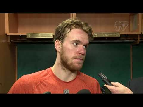 POST-GAME RAW | Connor McDavid