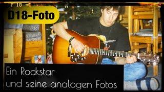 Ein Rockstar   und seine analogen Fotos