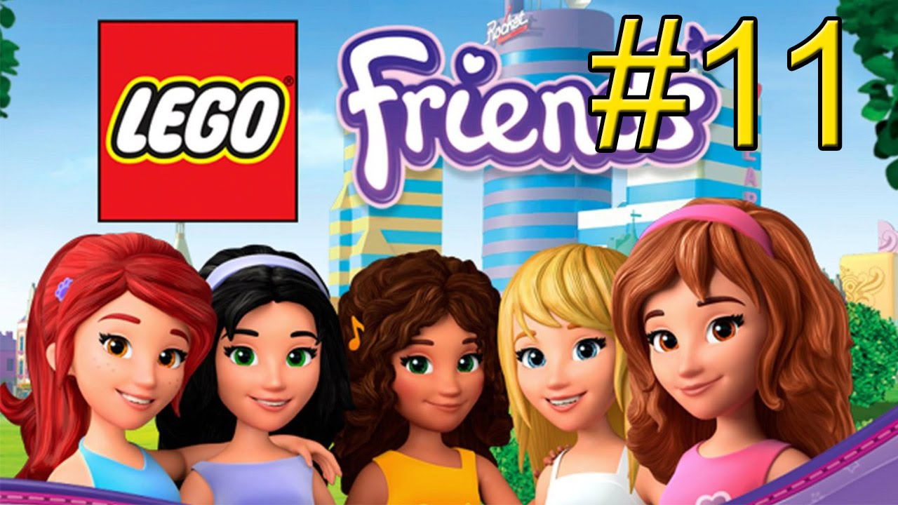 Lego Friends Part 11 Fashion Dreams Youtube