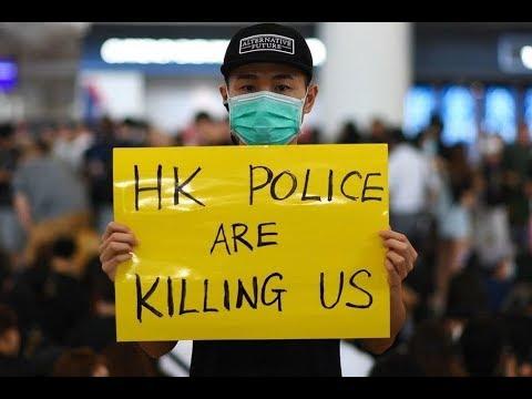 《今日点击》港警抓捕10岁女孩铁链栓捆 香港成军警政权