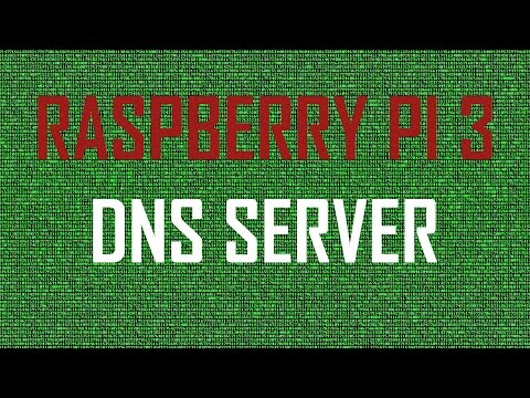 PERFECT LITTLE HOME SERVER [Raspberry Pi 3] PART 3 - BIND DNS Server