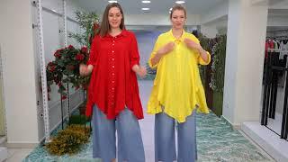 02 04 2021 2 Показ женской одежды больших размеров DARKWIN от DARKMEN Турция Стамбул