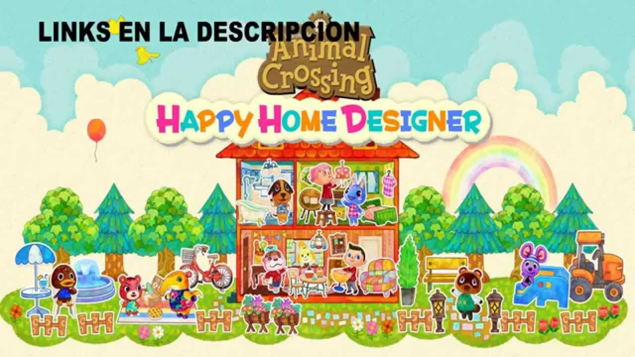 Animal crossing happy home designer trailer espa ol review home decor for Animal crossing happy home designer hotel