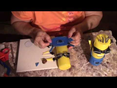 dIY  DO IT YOURSELF Minion Money Bank Project Piggy Bank
