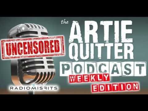 Artie Quitter Podcast Episode 343 December 13 2016 Artie and Jackie Martling with an Angry Mario