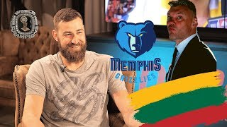 Jonas Valančiūnas: apie Šarą NBA, rinktinę, sutartį ir čempiono žiedą