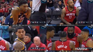 JAZZ VS ROCKETS - final minute of the game (wild ending) NBA February 10,2020