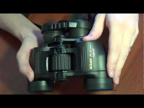 Обзор бинокля Nikon Action 7х35