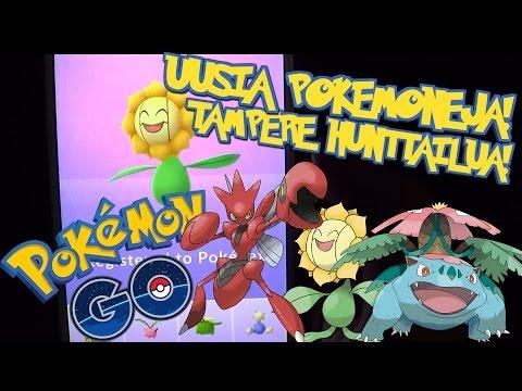 Pokemon GO Suomi - TAMPERE HUNTTAILUA! UUSIA POKEMONEJA + GIVEAWAY!